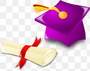 Diploma Scroll Cliparts - Academic Degree Bachelors Degree Masters Degree Clip Art PNG