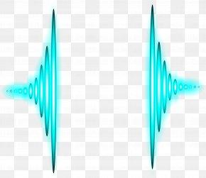 Vector Aurora Acoustic Wave Curve Image - Sound PNG