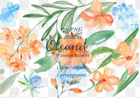 Delicate Floral FIG. - Floral Design Flower Garland Clip Art PNG