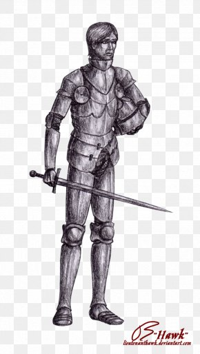 Medival Knight - Middle Ages Knight Plate Armour Components Of Medieval Armour PNG