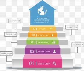 Step Up Arrow Flow Chart - Diagram Flowchart Arrow Infographic PNG