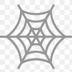 Spider - Spider Web Clip Art Colouring Pages Coloring Book PNG