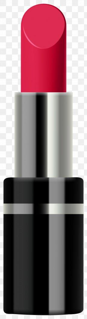 Red Lipstick Transparent Clip Art Image - Lipstick Cosmetics Clip Art PNG