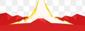 Cartoon Volcano - Mayon Volcano Euclidean Vector PNG