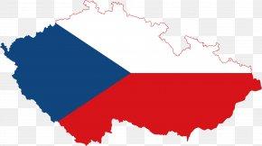 Flag - Flag Of The Czech Republic Czechoslovakia Germany PNG