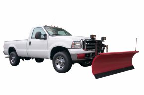 Snow Removal Cliparts - Pickup Truck Car Snowplow Plough PNG