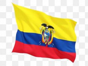 Flag - Flag Of Ecuador Flag Of Colombia National Flag PNG