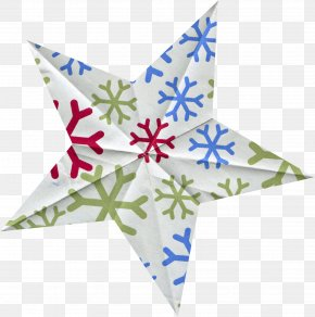 Snowflake Pattern Five-pointed Star - Snowflake Pentagram Euclidean Vector Pattern PNG