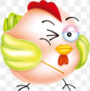 Chicken - Chicken Rooster Mascot Clip Art PNG