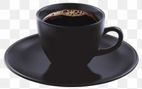 Black Coffee Cup Clipart Image - Single-origin Coffee Espresso Tea Cafe PNG