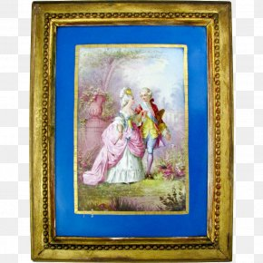Hand-painted Couple - Work Of Art Painting Picture Frames Art Museum PNG