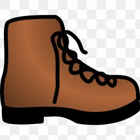 Cartoon Cowboy Boot - Cowboy Boot Brown Clip Art PNG
