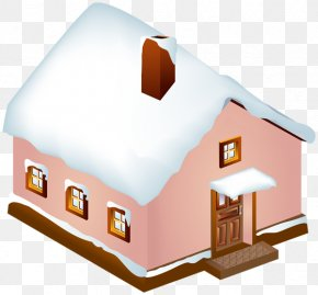 House Clip Art Winter - Clip Art Image House Design PNG