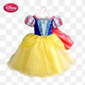 Disney Princess Dress Color - Snow White Dress Costume Disney Princess The Walt Disney Company PNG