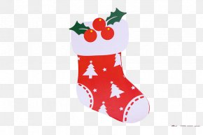 Christmas Stocking - Christmas Stocking Hosiery PNG