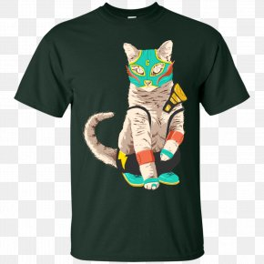 Cat Lover T Shirt - T-shirt Hoodie Clothing Sleeve PNG