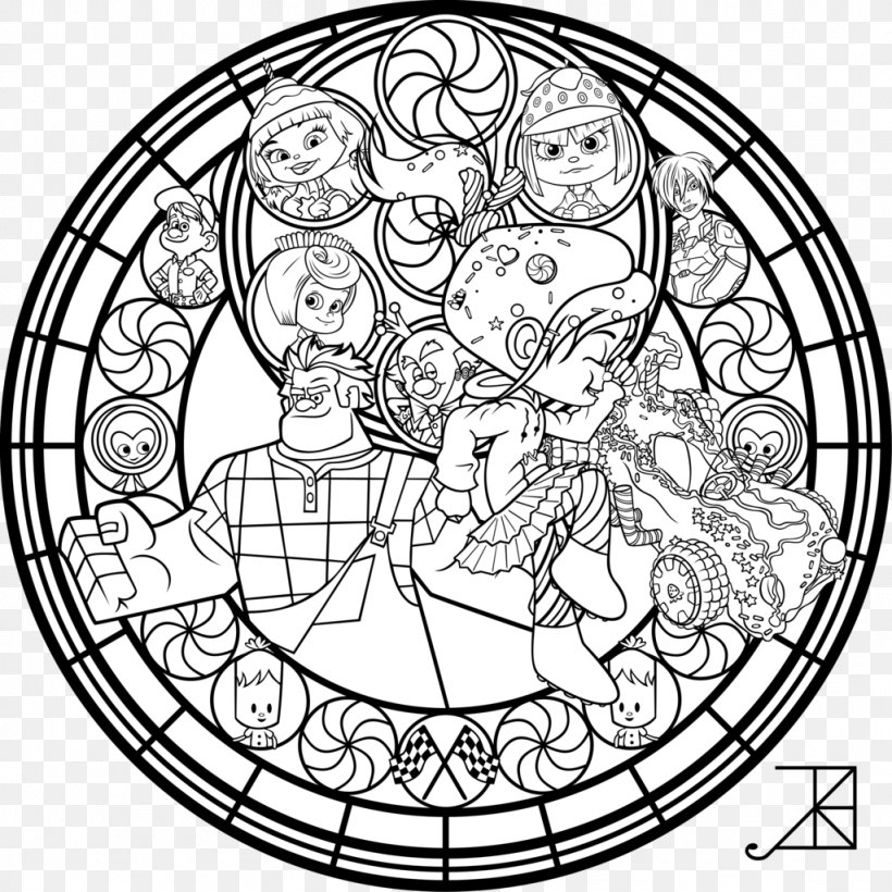 550 Stained Glass Coloring Book Free Download Best HD