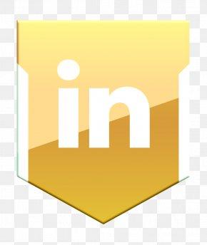 Logo Text - Linkedin Icon Shield Icon Social Icon PNG