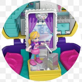 Toy - Polly Pocket Playset Mattel Toy PNG