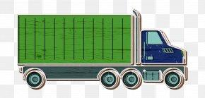 Trailer Truck Car - Automobile Icon Car Icon Cargo Icon PNG