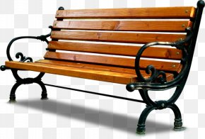 Chair - Bench Park Seat Chair PNG