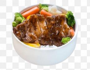Beef - Cuisine Of Hawaii Barbecue Chicken Chicken Katsu Loco Moco PNG
