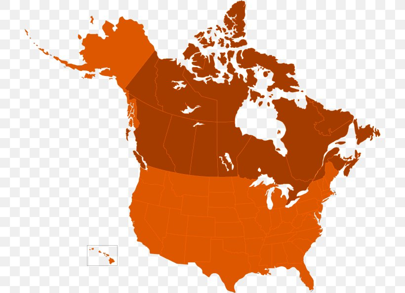 Canada United States Map Royalty-free North American Free ...