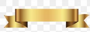 Continental Ribbon-shaped Frame - Ribbon Gold Text Box Clip Art PNG