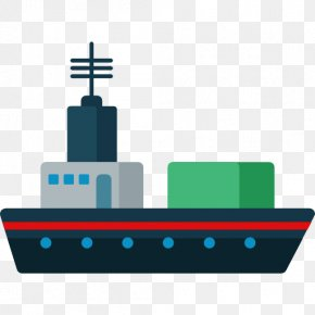 Ships And Yacht - Cargo Ship Transport Clip Art PNG
