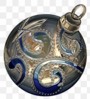 Holiday Ball - Christmas Ornament Bombka PNG