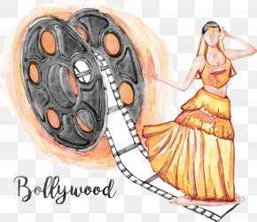 Bollywood Musicals - Bollywood Film Illustration PNG