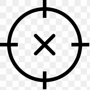 Crosshair - Clip Art PNG