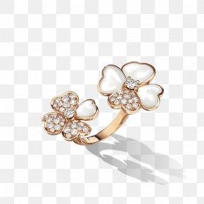 Ring Finger - Pearl Earring Van Cleef & Arpels Jewellery PNG