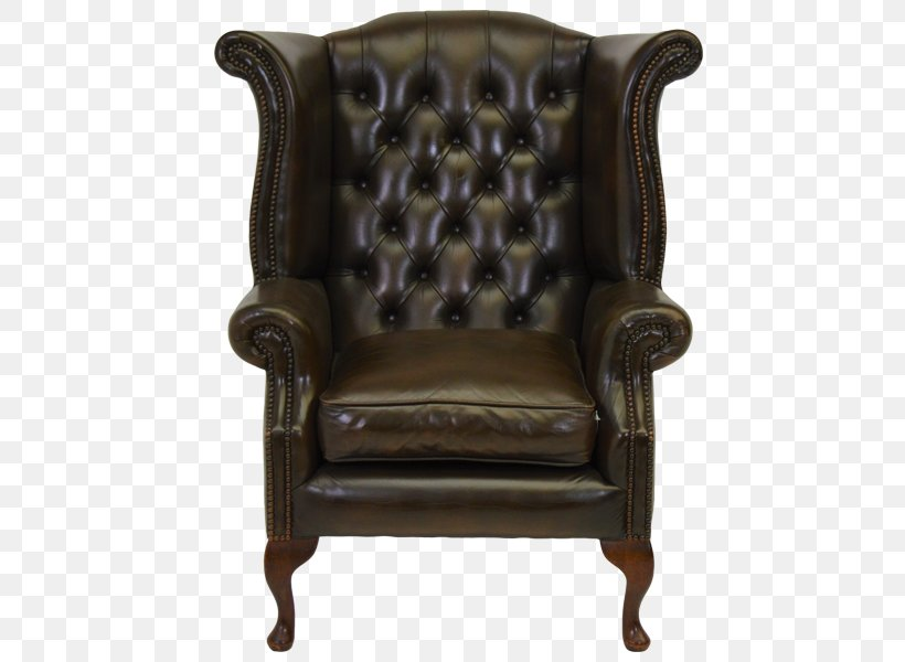 Couch Wing Chair Queen Anne Style Furniture, PNG, 500x600px, Couch, Antique, Bar Stool, Bonded Leather, Chair Download Free