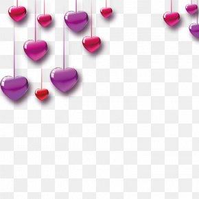 Love - Valentine's Day Heart Love Sticker PNG