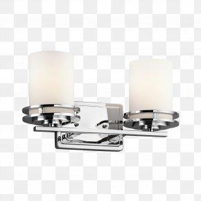 Light Fixture - Light Fixture Lighting Bathroom Kichler PNG