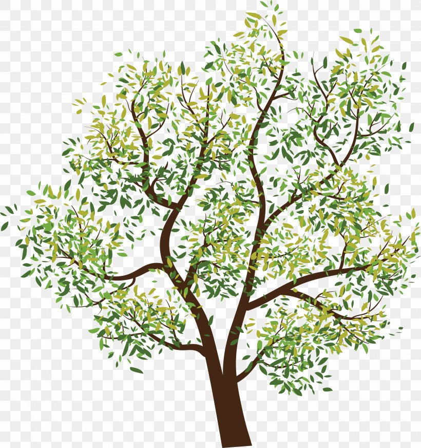 Tree Clip Art, PNG, 3520x3745px, Tree, Branch, Flora, Flower, Flowering Plant Download Free