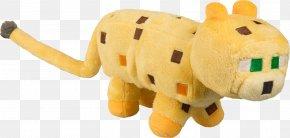 Plush - Minecraft Ocelot Stuffed Animals & Cuddly Toys Plush Jinx PNG