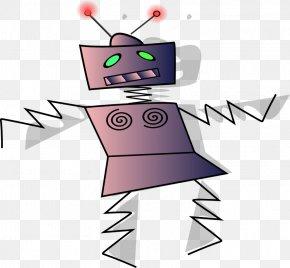 Tap Dance Clipart - Robot Dance Cartoon Illustration PNG
