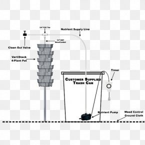 Water Tower - Hydroponic Gardening Hydroponics Nutrient Drip Irrigation System PNG