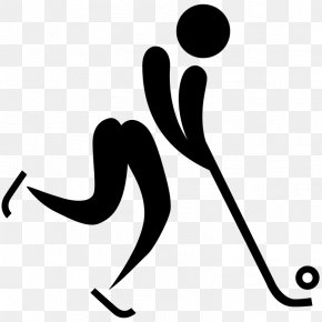 Pictogram - Ice Hockey At The Olympic Games 2018 Winter Olympics Hockey Sticks PNG