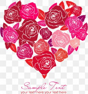 Rose Heart - Heart International Women's Day Valentine's Day Rose PNG