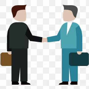 Businessman Handshake - Training Professional Icon PNG