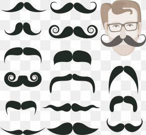 Various Shapes Beard - Beard Moustache Royalty-free Illustration PNG