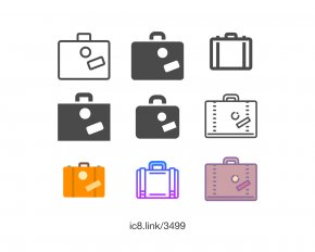 Suitcase - Download Font PNG