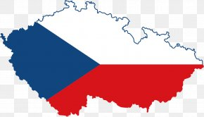 Checkered Flag - Flag Of The Czech Republic Map National Flag PNG
