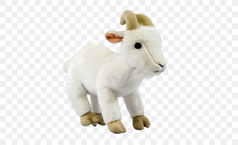 Goat Cheese Stuffed Animals & Cuddly Toys Plush Sheep, PNG, 500x500px, Goat, Animal Figure, Belle Chevre, Camel Like Mammal, Caprinae Download Free