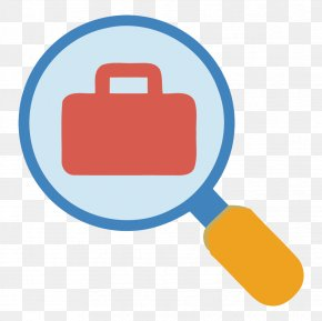 Vector Magnifying Glass Material Briefcase - Magnifying Glass Euclidean Vector PNG