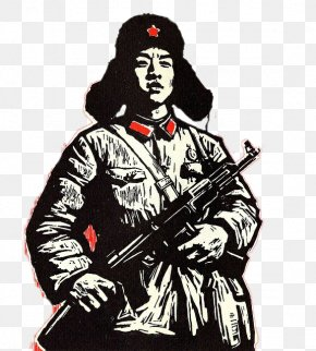 People's Liberation Army Soldier Lei Feng - Wangcheng District Lei Feng Cultural Revolution Soldier Peoples Liberation Army PNG