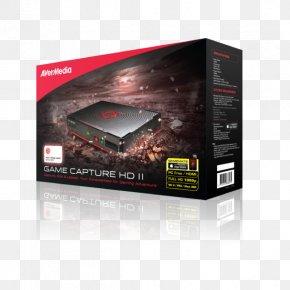 Avermedia Game Capture Hd Ii C285 - AVerMedia Game Capture HD II Xbox 360 Video Capture Video Game 1080p PNG